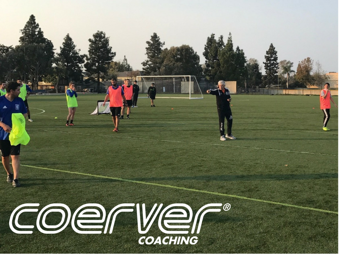 Technical Update conducted by Coerver Coaching Co-Founder Charlie Cooke